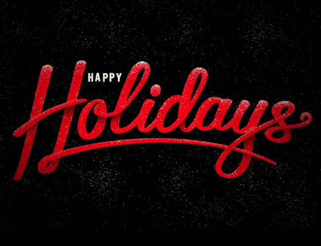 Fun Little Script I Whooped Out For This Years Holiday Card  Happy